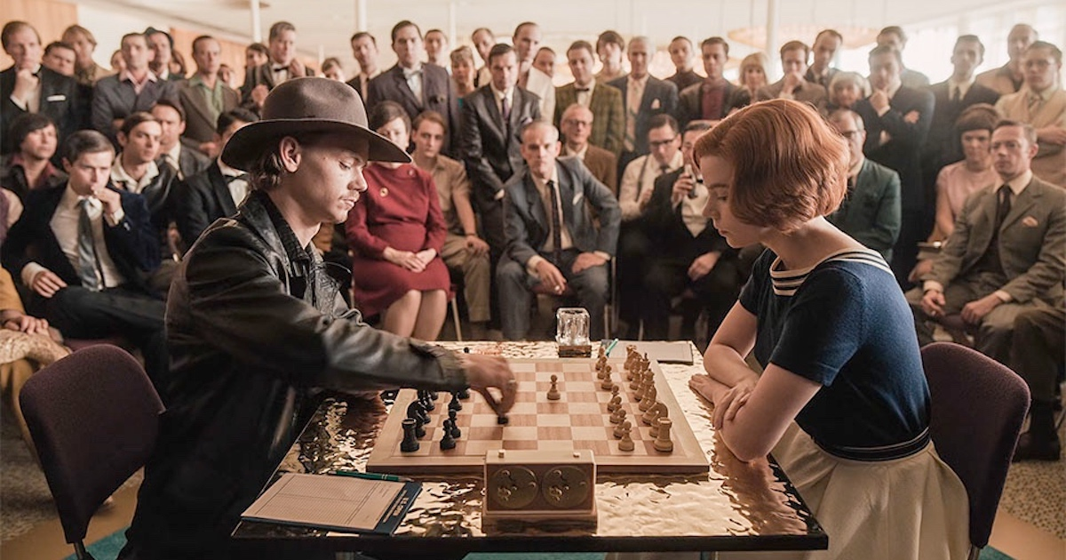Why The Queen's Gambit Is Such Smart Visual Storytelling - Justin Kownacki