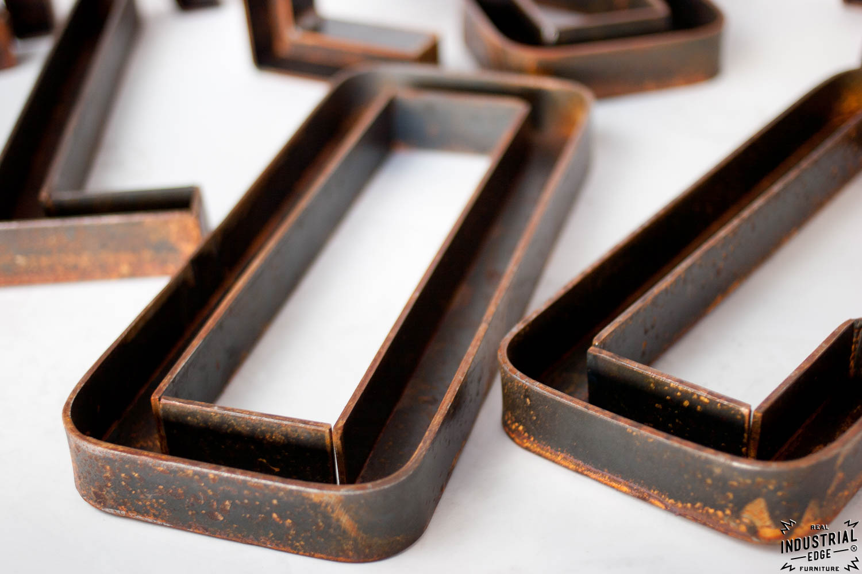 Custom Metal Letters 12 Inch Real Industrial Edge
