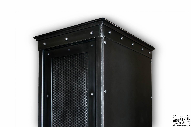 Industrial Rolling Locker Real Industrial Edge Furniture
