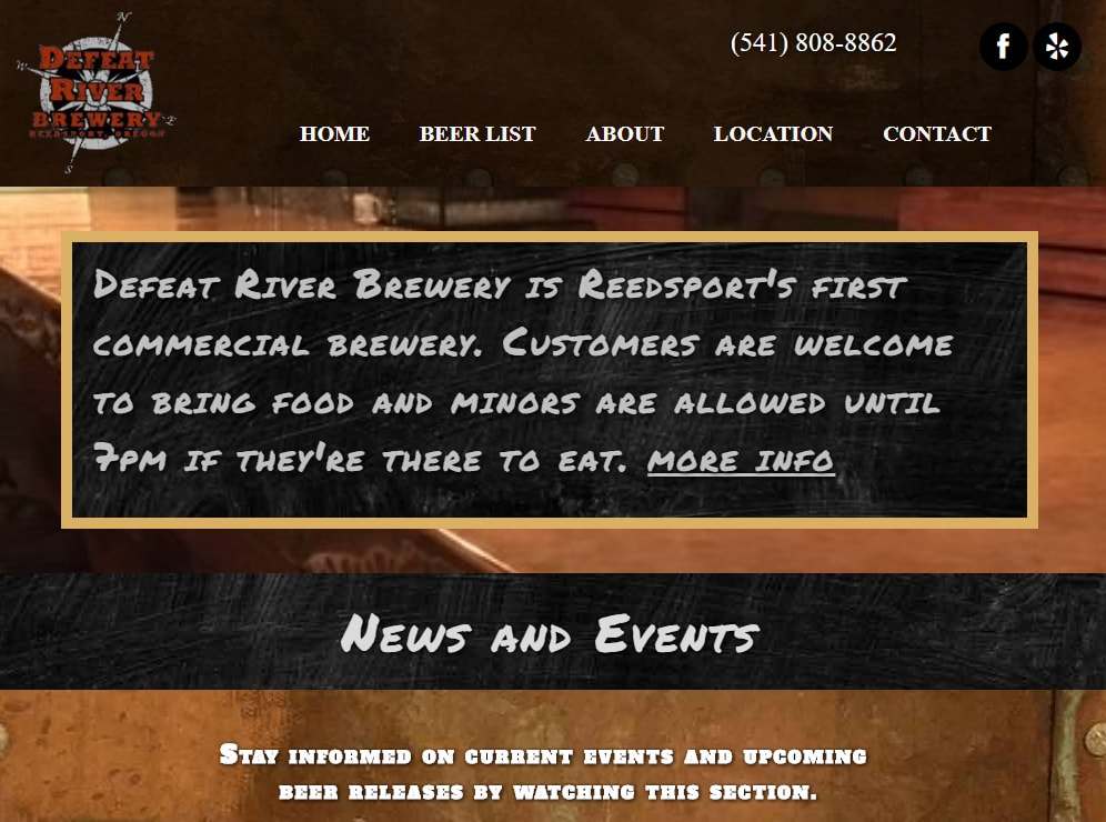 Defeat River Brewery