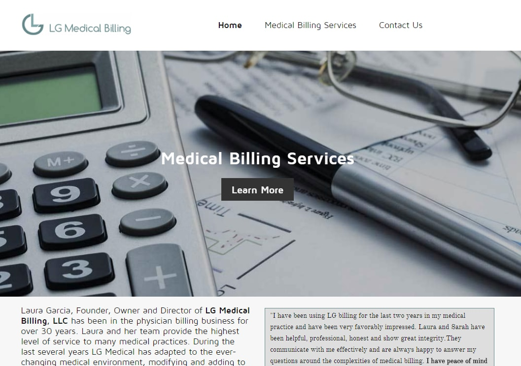 LG Medical Billing