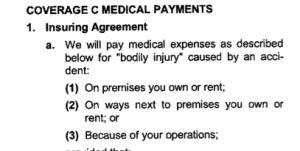 """¿Qué Es la Cobertura de """"Pagos Médicos"""" en una Póliza de Seguro Comercial General de Responsabilidad Civil?"""