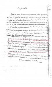 Scrisoarea lui Baştea Nicolae către nepotul Baştea Ioan, prin care-l învaţă cum să procedeze pentru a lua cu japca imobilele.