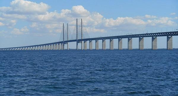 Puente de Oresund dinamarca suecia justito