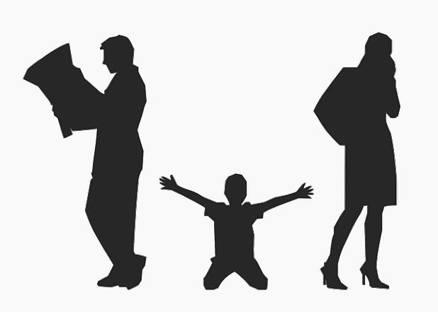 divorcio padres opositor
