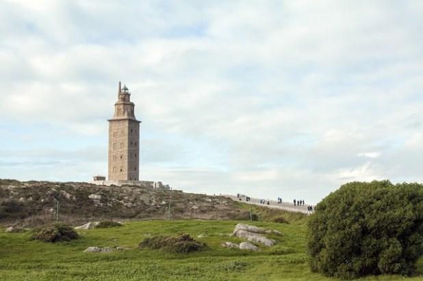 torre hercules La Coruña