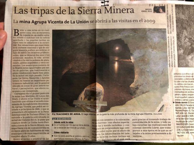 visita mina agrupa Vicenta