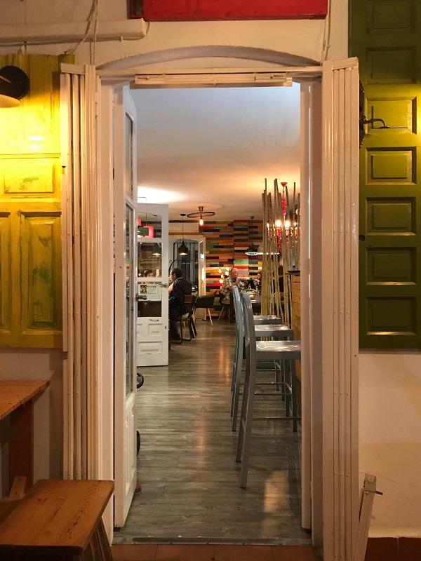Mojácar pueblo Restaurante La Candela