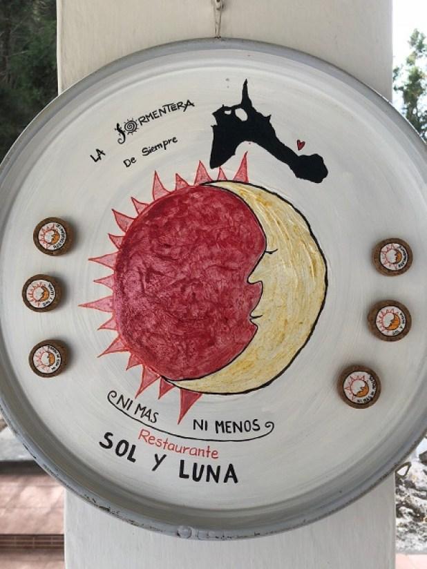 restaurante sol y luna Formentera