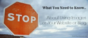 What You Need to Know About Using Images on Your Website or Blog