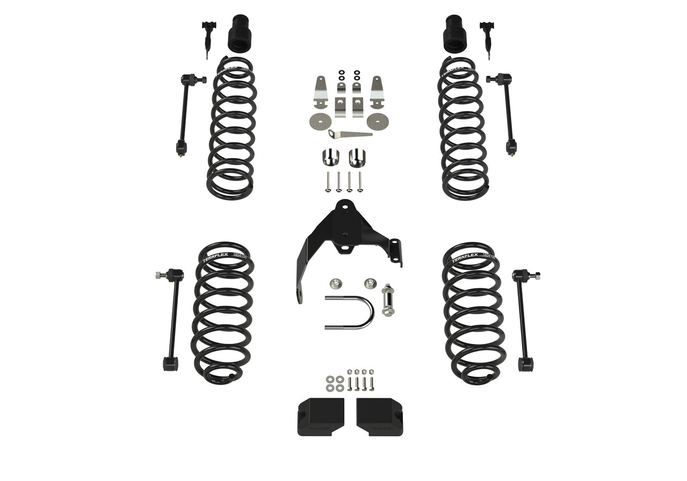 Just Jeeps Teraflex 2 Suspension Lift Kit No Shocks For