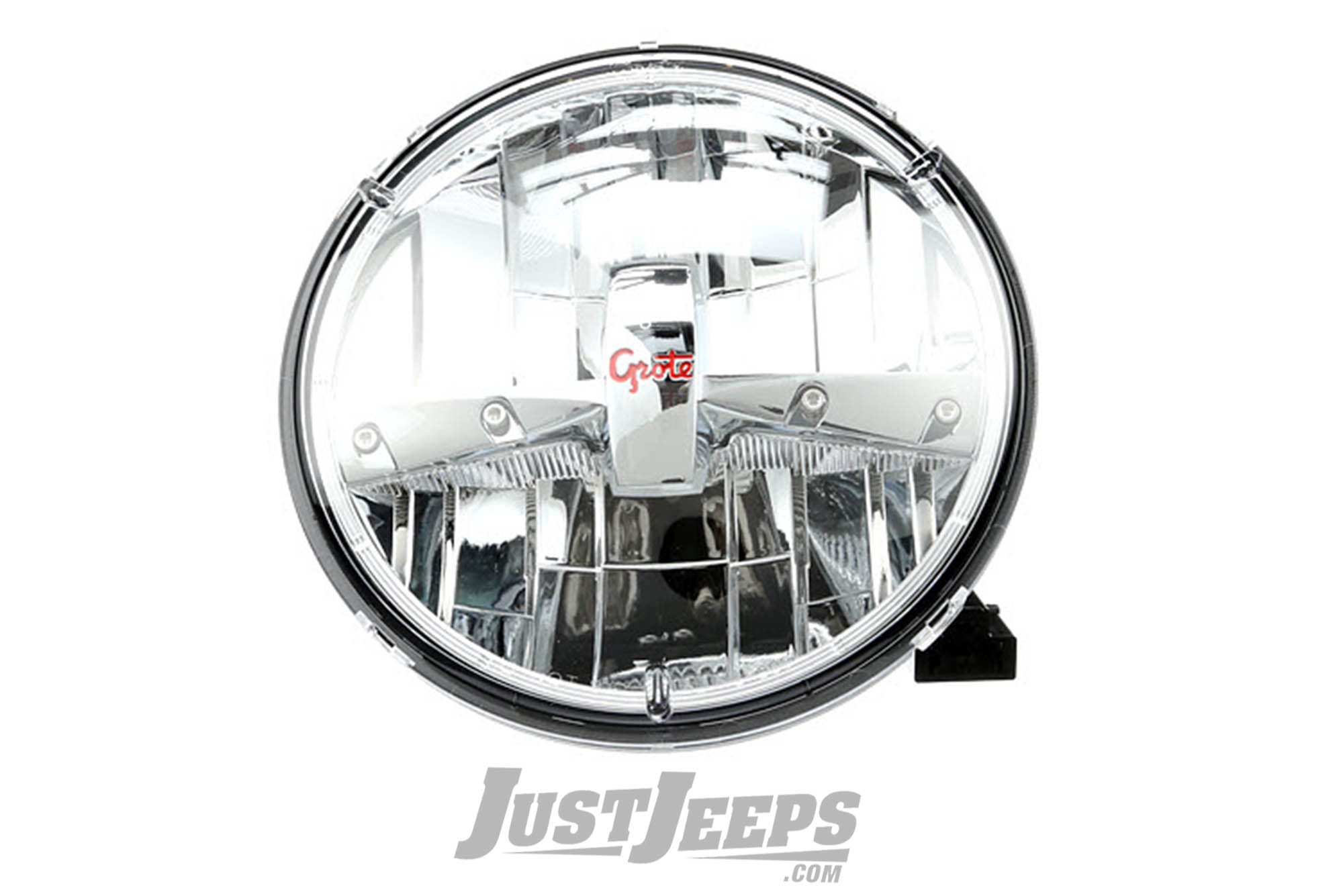 Just Jeeps Grote Led Headlamp Single For 18 Various