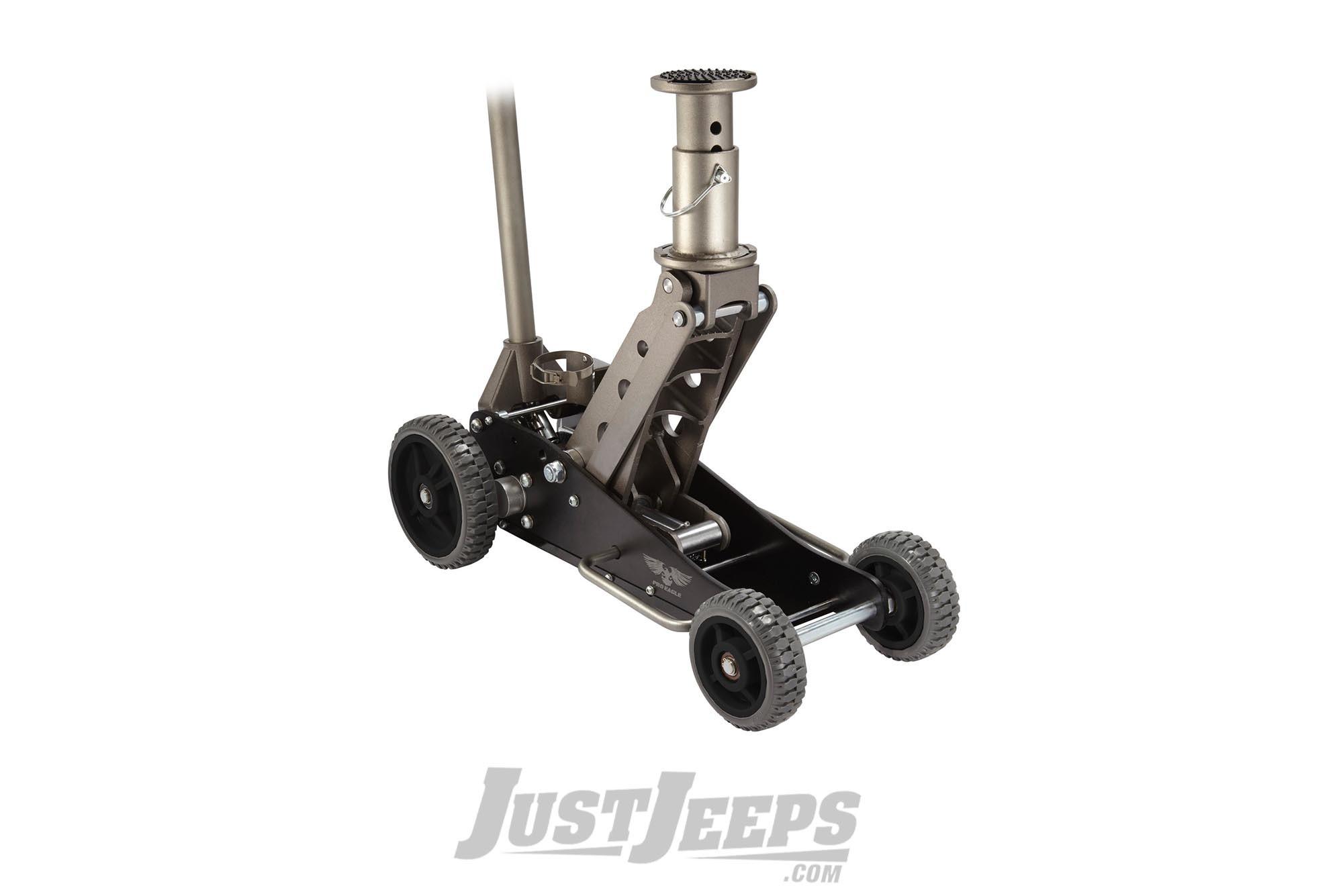 Just Jeeps Pro Eagle 2 Ton Big Wheel Off Road Jack The