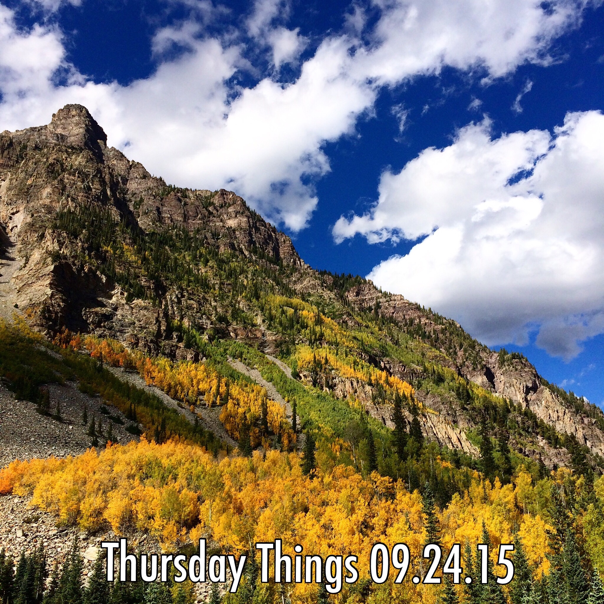 Thursday Things 09.24.15