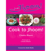 Cover of the Cook to Jhoom cookbook