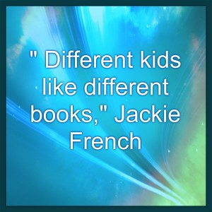 Different kids like different books