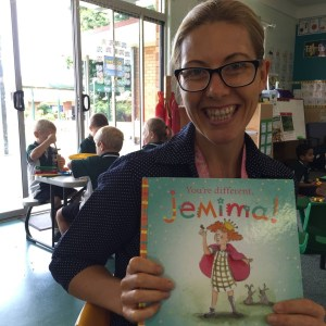 You're Different Jemima! by Jedidah Morley