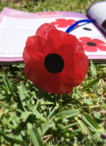 Australia Remembers Crafts: Red Poppies to Remember