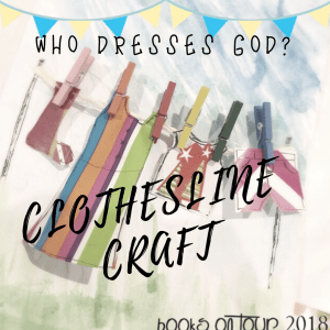 Who Dresses God? Clothesline Craft Card