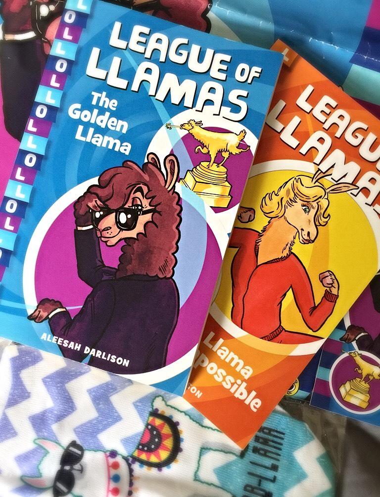 League of Llamas Books 1 and 2