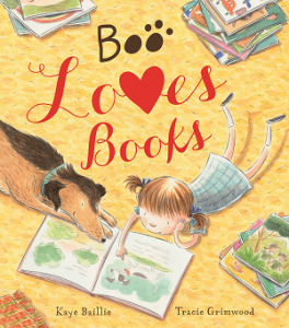 #BookReview: Boo Loves Books by Kaye Baillie and Tracie Grimwood