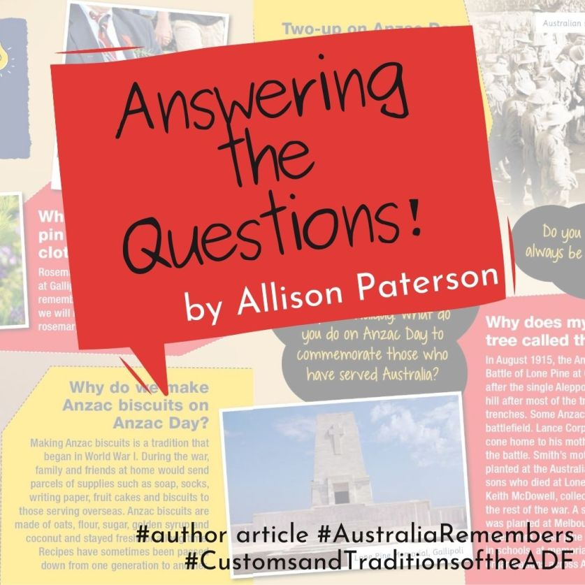 Answering the Questions! Article by Allison Paterson