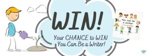 You Can Be a Winner! It's the You Can Be A Writer #BookGiveaway!