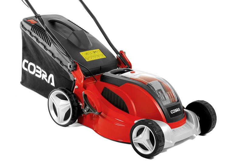 3 Great Cobra Battery Powered Cordless Lawn Mowers Just