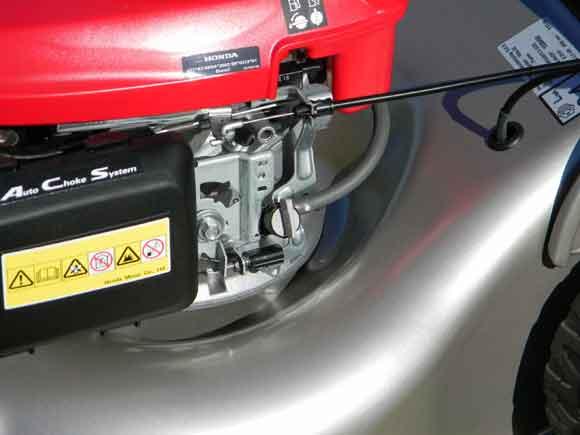 Honda Izy - fuel tap off