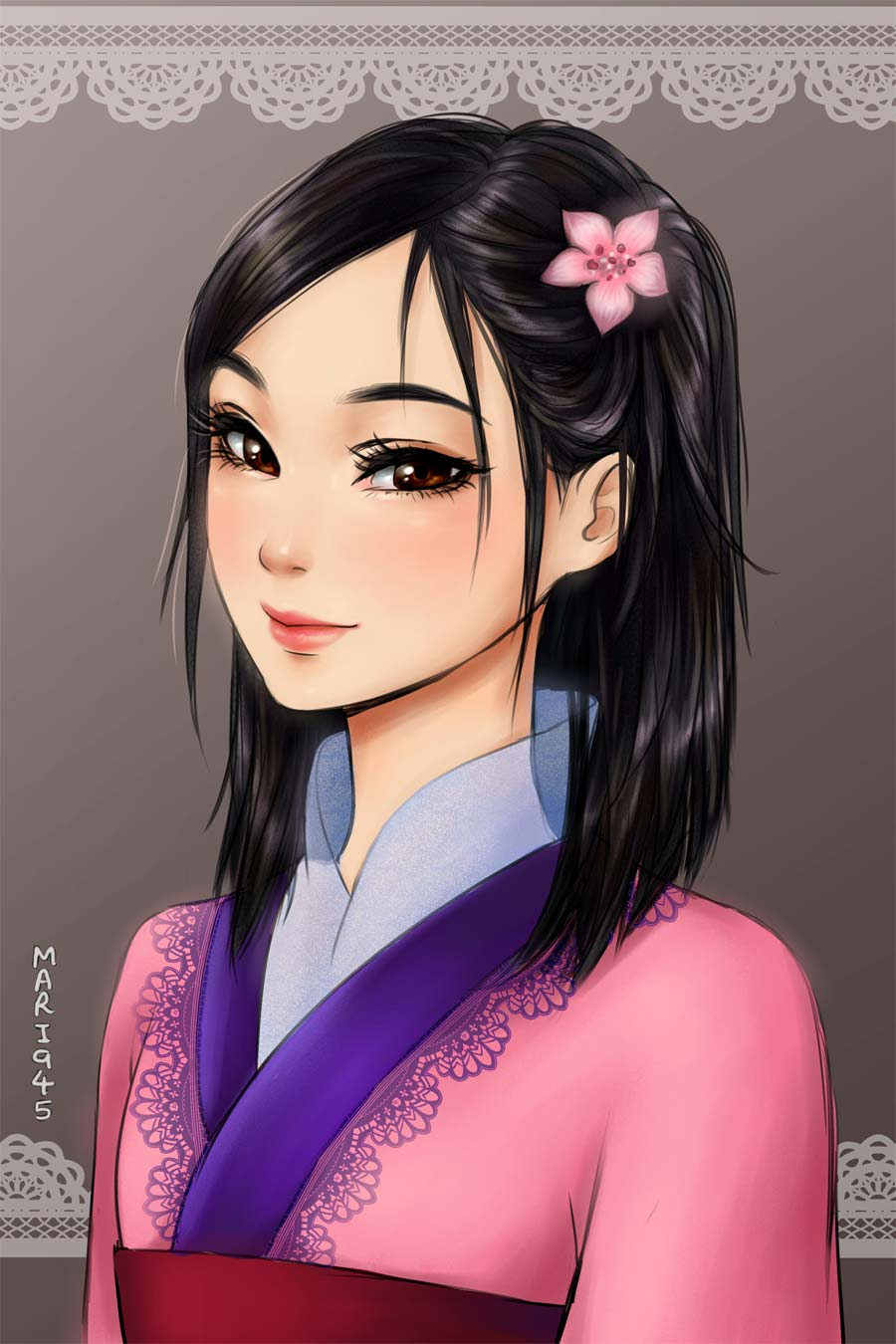 disney-ilustracao-princesas-retratos-animes-010