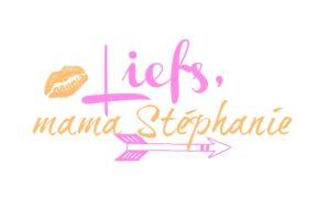 mama stephanie roze oranje