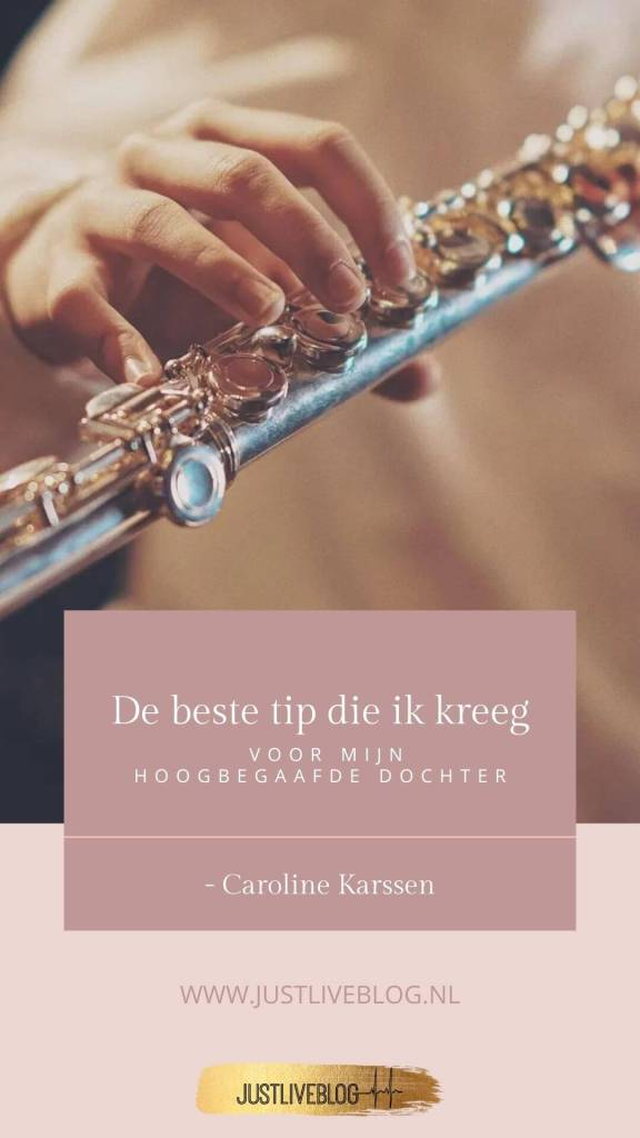 Pinterest afbeelding. uitleg over de blog van Caroline die gaat over hoogbegaafdheid / hoogbegaafd zijn.