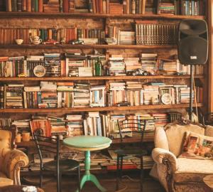 Boeken, bibiliotheek, zelfhulpboeken