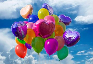 jarig ballonnen