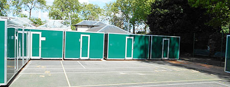 temporary luxury toilets for hire