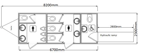 Toilet hire Dorset