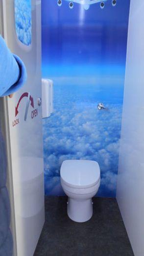 Sky Luxury toilet hire