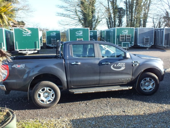 Ford toilet hire