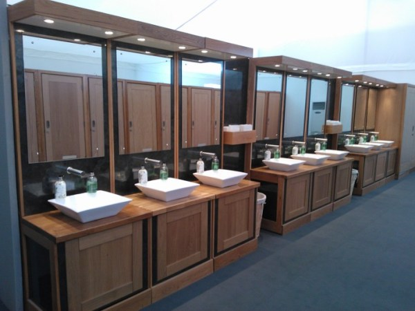 Designer Modular Washrooms