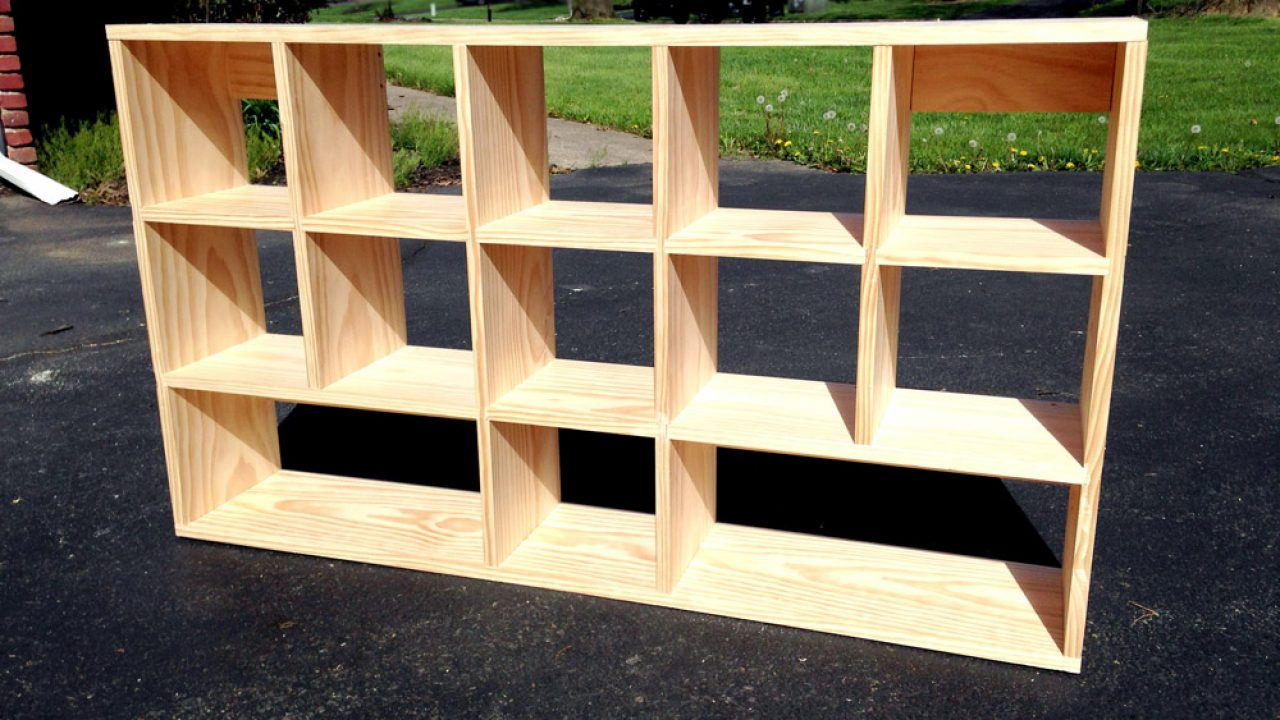 How To Build Diy Cubby Shelves That Mount Simple Diy