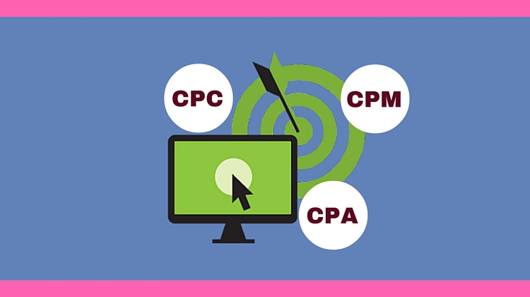 Meaning of CPC CPM and CPA