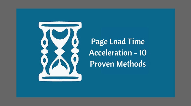 Page Load Time Acceleration
