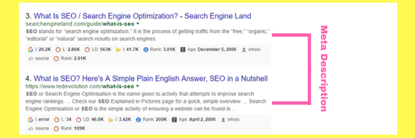 meta for On-Page Vs Off-Page SEO