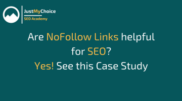 NoFollow Links helpful for SEO
