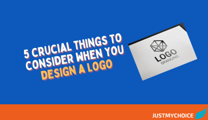 5 crucial things to consider when you design a logo