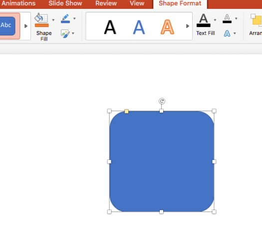 Object Inserted in the Slide
