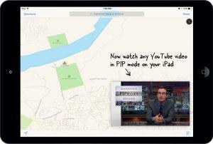watch youtube video in pip mode