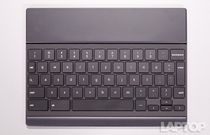 Reviewing the Google Pixel C :Keyboard