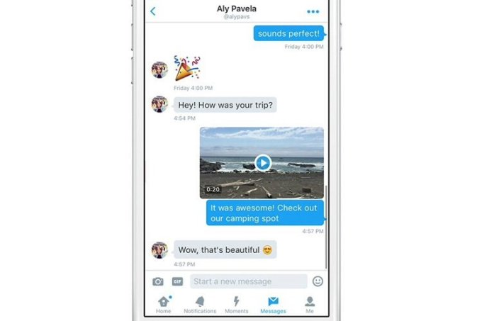 Twitter now lets users record, share videos in Direct Messages