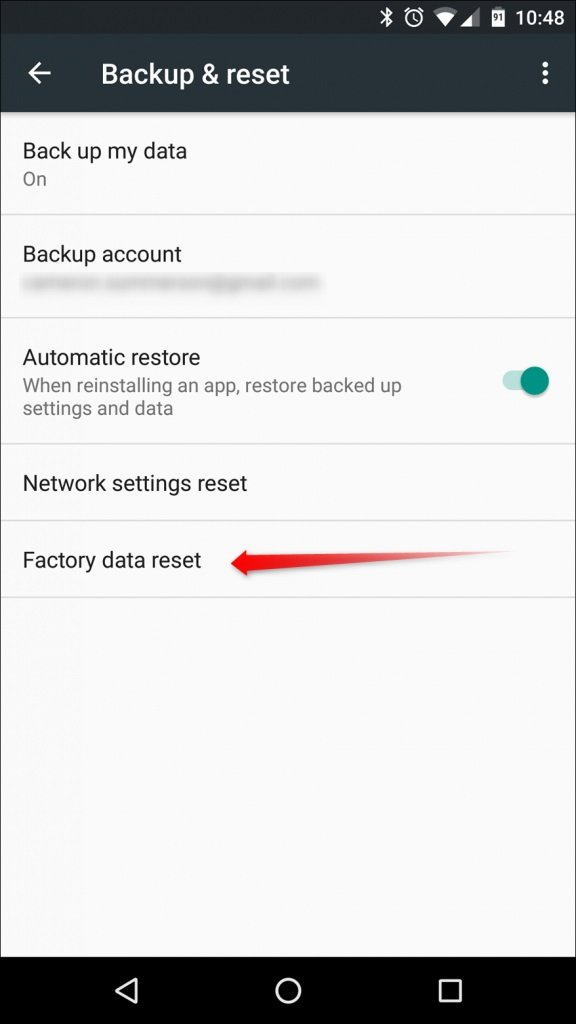 Restoring your Android to Factory settings: HOW TO